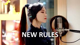 Dua Lipa - New Rules cover by jfla music