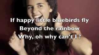 Carly Rose Sonenclar - Over the Rainbow Lyrics X-factor USA