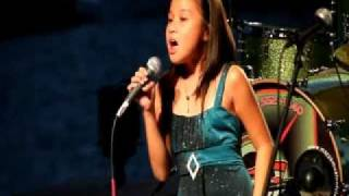 My Heart Will Go On - Celine Dion / Titanic live cover by 9 y/o Dominique Dy at Riverfest Idol