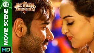 Sonakshi Sinha Proposes Ajay Devgn | Action Jackson
