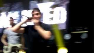 Glad You Came live in Chile - The WANTED