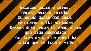 Quartel 469 - Duas Caras (Letra)(HD)