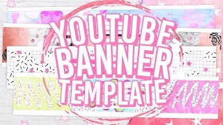 10 Free Youtube Banner Templates [NO TEXT]