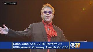 U2, Elton John, Kendrick Lamar To Perform At Grammys