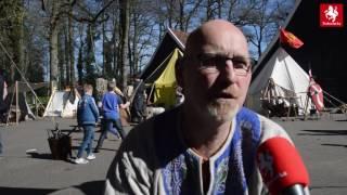 Oude tijden herleven op Middeleeuws Weekend Dragonheart in Enschede