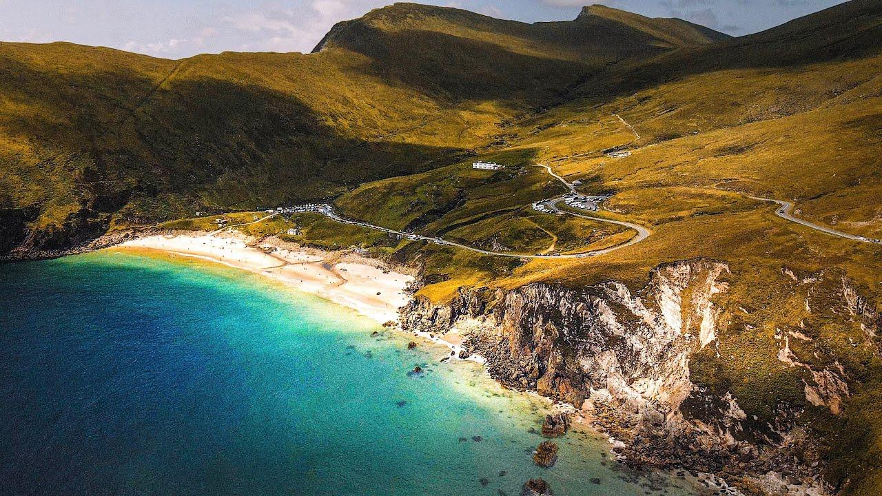 Incredible Keem Bay & Mulranny Beach, Ireland – Drone Footage