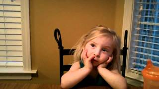 Riley Sings Somewhere Over The Rainbow