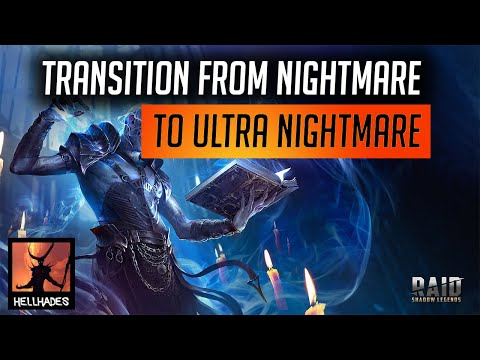 RAID: Shadow Legends   Transition - Nightmare to Ultra Nightmare CB & improving your dungeon times