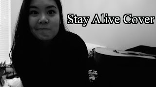 Stay Alive Jose Gonzalez Cover - Amanda Sum