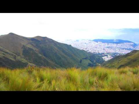 Top of the World: Pichincha Volcano in Quito, Ecuador