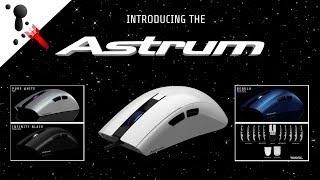 New Modular Mouse Coming! Ninox Astrum (3360 Optical, 80g)