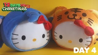 12 Days of Christmas (DAY 4): Hello Kitty Jungle Pillow (Mcdonald's) PART 1