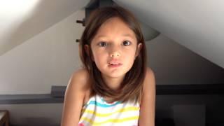 Léa chante parler a mon pere de Céline Dion