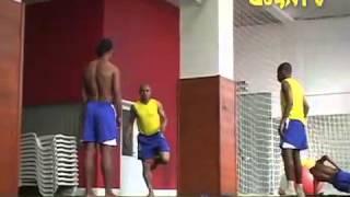 Ronaldinho, Robinho,Roberto Carlos skills and tricks