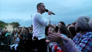 MC15: Shayne Ward Plays at Morecambe Carnival on The Bay's Live Stage (03/05/15)