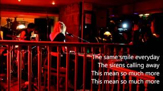 "CATS ON TREES ""Sirens call"" live@Bars en Trans - Rennes - Transmusicales 2013 - avec paroles"