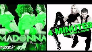 4 minutes vs Hung up - Madonna (ft Justin Timberlake & Timbaland) Mashup