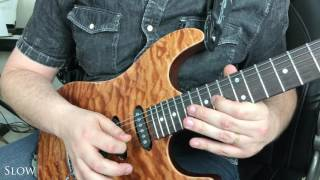 Learn to Play: The Rising Sun (Shinsuke Nakamura's Theme) Main Melody on Guitar!