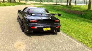Mazda RX-7 FD JDM Walkaround C-west bodykit.