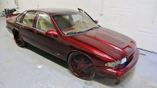 WhipAddict: Kandy Brandywine 96' Chevrolet Impala SS on 24