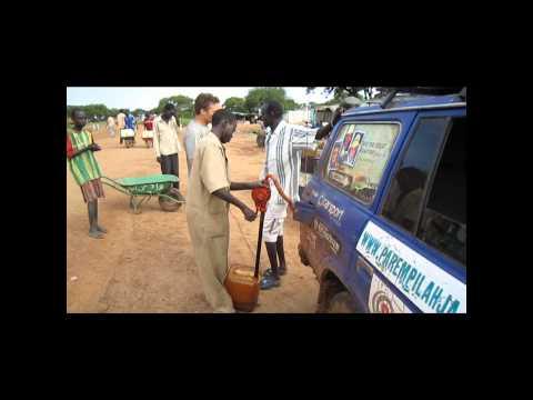 Tankkaus Etelä-Sudanissa