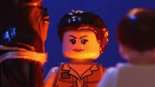 Han Solo Frozen in (Lego) Carbonite