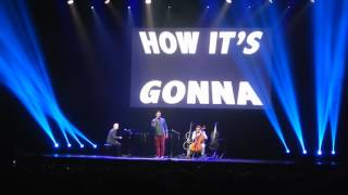 It's gonna be OK - Piano guys live in Amstedam