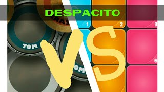 Super Pads VS Real Drum-DESPACITO(Luis Fonsi)||Super pads Despacito||Real Drum Despacito