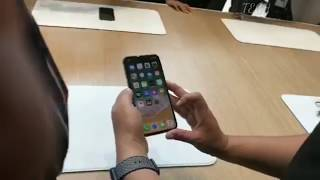 Iphone X or iPhone 10 ||On hand feature with Its first Real look||Must watch