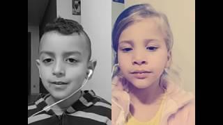 Sou criança, Senhor - Hino 448 CCB - Ana Júlya e Luan Matheus 😍😍 meus bebês