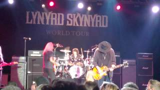 Lynyrd Skynyrd - Gimme Three Steps - live in Wetzikon 2015