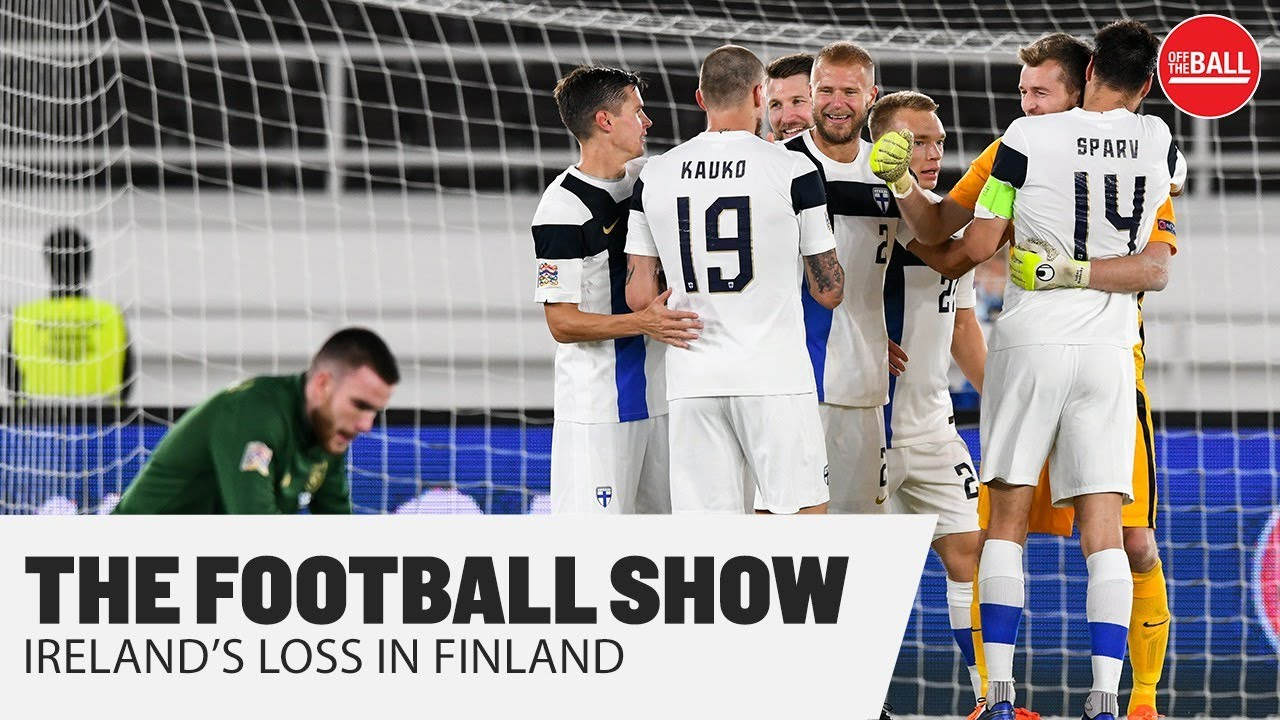 THE FOOTBALL SHOW | Richard Dunne & Stephanie Roche on Ireland's loss in Finland
