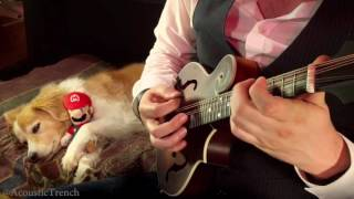 Mario Theme played on a Mandolin