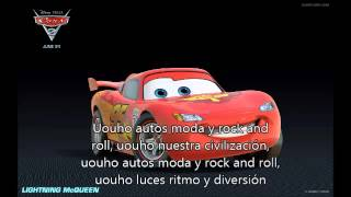 autos moda y rock and roll con letra-moderato-cars 2