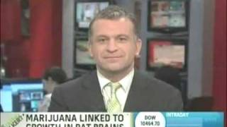 Marijuana Linked To Brain Cell Growth