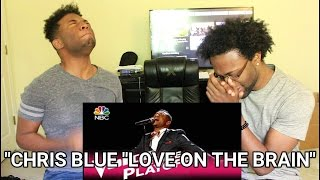 "The Voice 2017 Chris Blue - Live Playoffs: ""Love on the Brain"" (REACTION)"