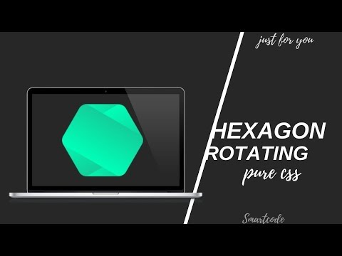 Download thumbnail for Creative Hexagon Rotate On Hover