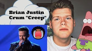 "Reaction Brian Justin Crum ""Creep"" (Super Emotional Performance) AGT 2016"