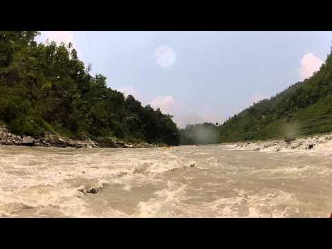Rafting in Nepal on the Trisuli | June 2012 | Part 1