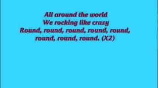 Paulina Rubio - All Around The World (Lyrics)