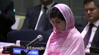 Discurso do Prémio Nobel da Paz 2014 Malala Yousafzai nas Nações Unidas
