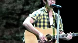 "Nick Jonas ""Introducing Me"" 2 minute challenge!-Jonas Brothers Camp Rock Tour-Hershey, PA 8/14/10"