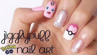 Pokemon Go Jigglypuff Nails! ❤ | DIYDazzleNails Collab w/ Kyra Rachelle