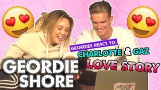 Geordie Shore BBB | Charlotte & Gary React To Their Own Love Story!! | MTV
