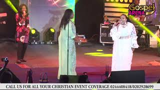 Sinach and Ceccey Twum sings Way Maker at Women in Worship