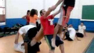 Ginástica acrobática - pose 3