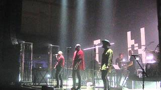 Massive Attack & Young Fathers 'Voodoo in my Blood' live @ De Montfort Hall Leicester 25/01/16