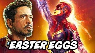 Captain Marvel Avengers Endgame TOP 20 Easter Eggs Breakdown