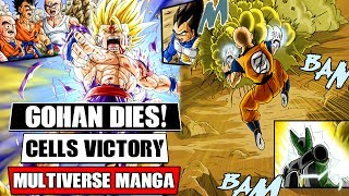 Dragon Ball Multiverse Chapters 16 And 17: Cell Destroys Gohan! Vegito's Plan (Fan Manga Review)