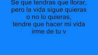 Volar Los Rebujitos y Zinkiyos lyric letra